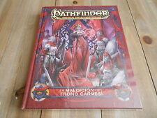 PATHFINDER - La Maldición del Trono Carmesí - DEVIR - juego de rol - Precintado