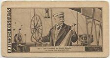 68/395 SAMMELBILD GRAF ZEPPELIN STEUER GLOCKE   - KRIETSCH BISCUITS WURZEN
