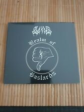 Cd Abscheu Realm of Bastards Rock Black Metal Gothik Digipack NEU