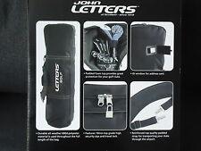 JOHN LETTERS Golf Reisetasche Bag Golftasche Golfbag Travel Cover neu in OVP