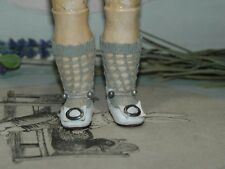 """Beautiful leather shoes for Jumeau Bru Steiner  doll 1 - 1/2"""" (38 mm)"""