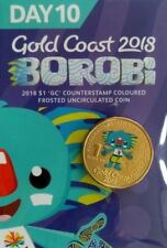 🌟🌟 Day 10 Borobi $1 Coin. Gold Coast Commonwealth Games 2018, 🌟