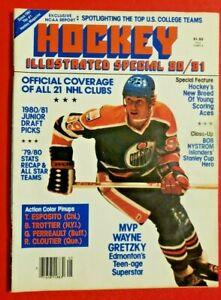 Hockey Illustrated Special 80/81 Vol 20 No 1 - MVP Wayne Gretzky - '79/80 Stats