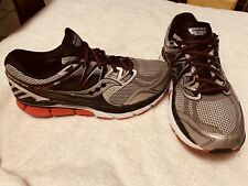 Saucony Men's Redeemer Iso Running Shoe, Black/Grey, 2E(W) Us 11 Nice And Clean