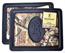 (Lot of 2) BROWNING Mossy Oak Break-Up Utility Floor Mat Camo BFM5103 >NEW<