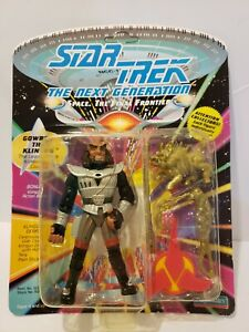 Playmates 1992 Star Trek The Next Generation Gowron The Klingon MOC UNPUNCHED