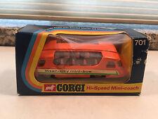 Corgi INNER-CITY HI-SPEED MINI-COACH #701 * New in Box! WHIZZWHEELS