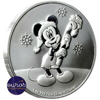 NIUE 2020 - 2$ (dollars) NZD Mickey™ - Noël - 1oz argent 999,9‰ Bullion  Disney™