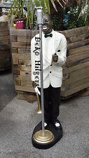 Sänger Louis Armstrong Trompeter Groß Figur Jazz Musiker Skulptur Mikrofon Cr Sc