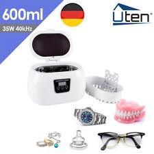 Ultraschallreiniger 600ml Reiniger Ultraschallreinigungsgerät Schmuck Cleaner DE