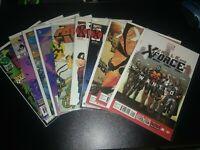 Various X Force Comics Lot
