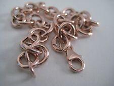 Or Rose Bracelet 9 carats large liens