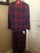 NEW JOAN LESLIE 3 PIECE OUTFIT. JACKET, SKIRT, AND BLOUSE SIZE 16