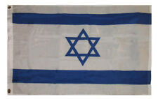 2x3 Israel Jewish Super Poly Flag 2'x3' House Banner Grommets