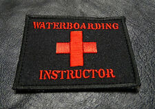 Waterboarding Instructor  Combat Army Morale  TACTICAL HOOK PATCH