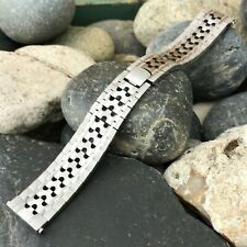 rare White Gold hge Chavis nos 1970s Vintage Watch Band 18mm 19mm 20mm
