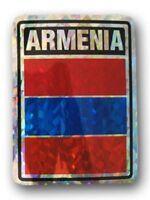 "Armenia Country Reflective Decal Bumper Sticker 3.875"" x 3"""
