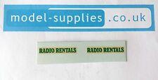 MATCHBOX 62b COMMER Radio affitti Van riproduzione scivolo ad acqua trasferimenti Set