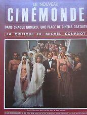 CINEMA BRIALY BERGMAN WELCH FRANCESCHI JUDY GEESON  N° 1837 CINEMONDE 1970