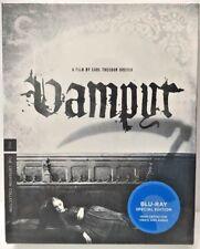 Vampyr Criterion Collection (2008, Blu-Ray) 1932 B&W German w/ English Subtitles