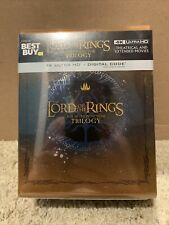 New ListingThe Lord of the Rings: Motion Picture Trilogy Steelbook (4K Uhd + Digital) New