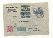 D154825 Czechoslovakia Airmail Cover 1938 Buenos Aires Argentina