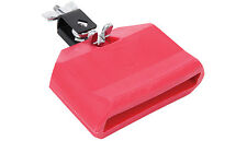 Drum Kit - Percussion Effect - Plastic Block - Low - Red - cowbell alternative
