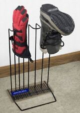 Rackems Boot and Glove Drying Rack in Black - 1 Pair of Boots/1 Pair of Gloves