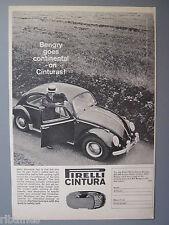 R&L Ex-Mag Advert: Pirelli Cintura Tryes, VW Beetle