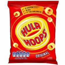 KP Hula Hoops Ready Salted - 32x34g