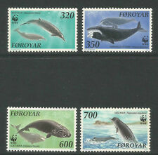 Faroe Is 1990 Whales-Attractive Marine Life Topical (208-11) Mnh
