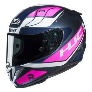 Casco Helm Casque Helmet HJC RPHA 11 SCONA MC8 ROSA BLU 2019 taglia S