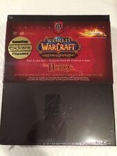 World of Warcraft The Horde Art Card Set Sealed - Factory Sealed - Never Opened