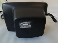 Vintage Canon Canonet 28 35mm Camera With Orig Case Working