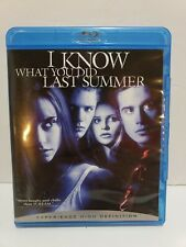 I Know What You Did Last Summer Blu-ray OOP rare horror Gellar Prinze Phillippe