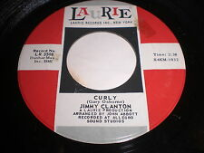 Jimmy Clanton: Curly / I'll Never Forget Your Love 45