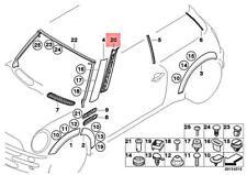 Genuine MINI R50 R52 R53 A PILLAR MOLDING SECTION BASE FOR TRIM LEFT