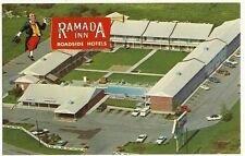Ramada Inn Hotel Motel Roadside Postcard Springfield MO Missouri