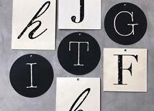 Letreros colgantes