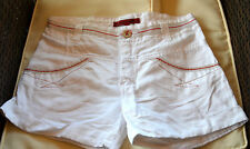 MARITHÉ FRANCOIS GIRBAUD-Muy bonito shorts blancos TALLA 12 años