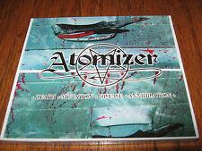 """ATOMIZER """"Death,Mutation,Disease,Annihilation"""" CD vomitor nunslaughter"""