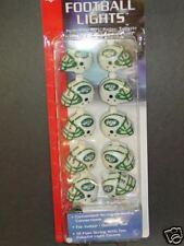 NFL New York Jets Helmet Light Sets (2 Sets) NEW