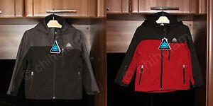 Snozu Boys Soft Shell Fleece Ski Winter Water Resistant Jacket Detachable Hood