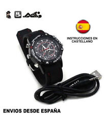 RELOJ ESPIA CAMARA OCULTA 8GB 1280x960 WATCH HIDDEN SPY CAMERA HD