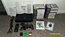 PS2 Console Mega Bundle~ 32 Games ~ Remote ~ 3 Memory Cards ~ Manuals  ~ Working