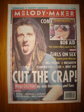 MELODY MAKER 1992 OCT 31 MEGA CITY 4 DYLAN FLAMING LIPS