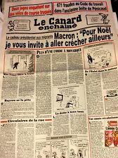 LE CANARD ENCHAÎNÉ 20/12/17**EXPLOITS CLIENTS DE FR**NEGRESCO**BURE**671 FRAUDES