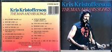 Kris Kristofferson ,Australia only cd album (16 tracks) - The Man & His Songs