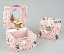 Floss & Rock Party Animals Children Musical Jewellery Gold Star Box Girls Gift