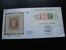 MONACO - enveloppe 1er jour 20/10/1992 bloc (n° 58) (cy54)
